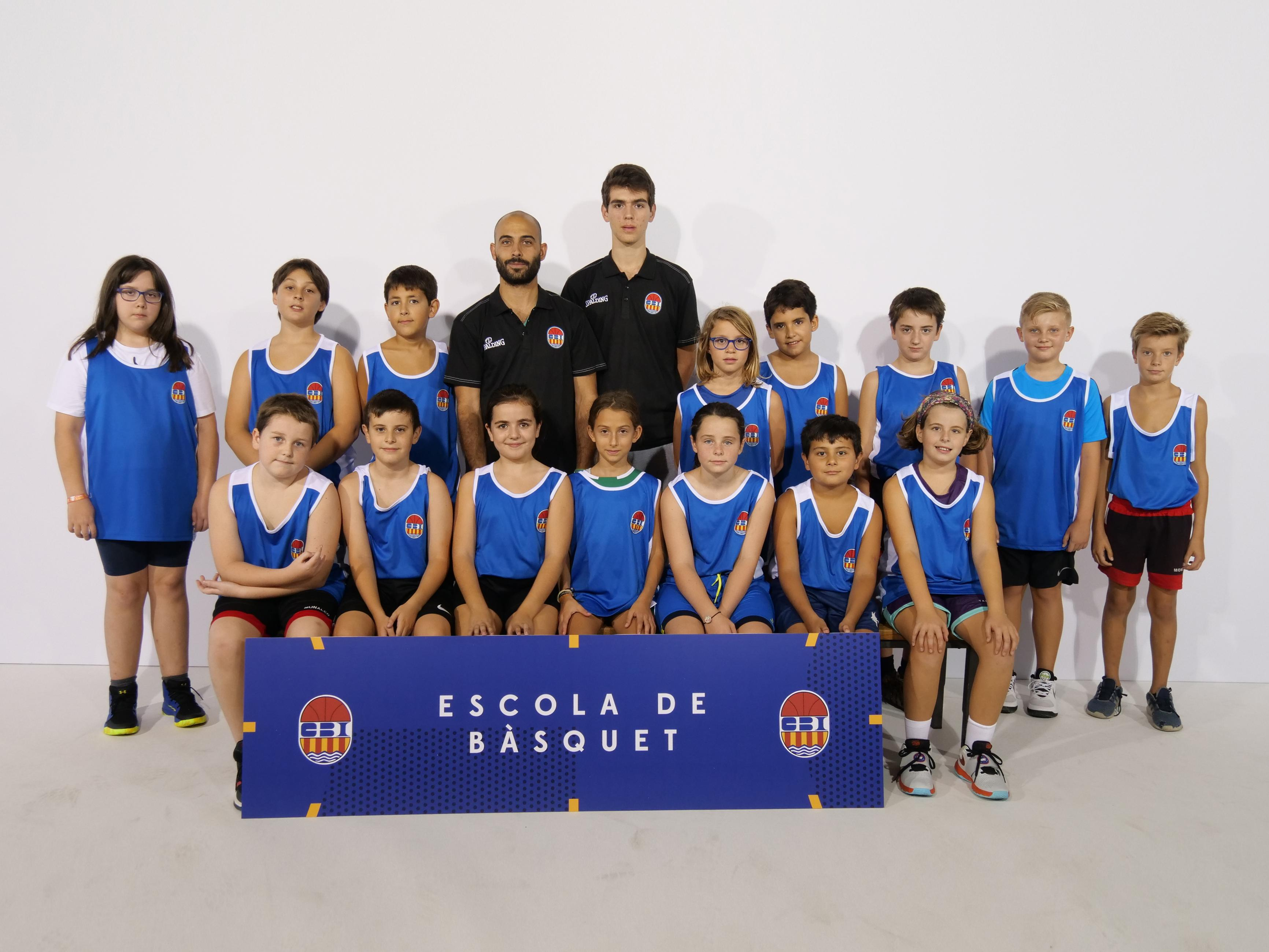 Escola de bàsquet Grans mixte