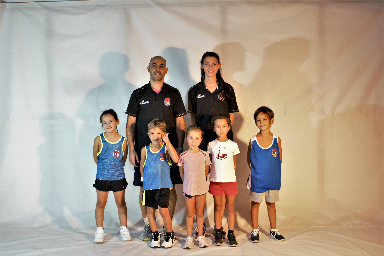 Escola de bàsquet Petits mixte