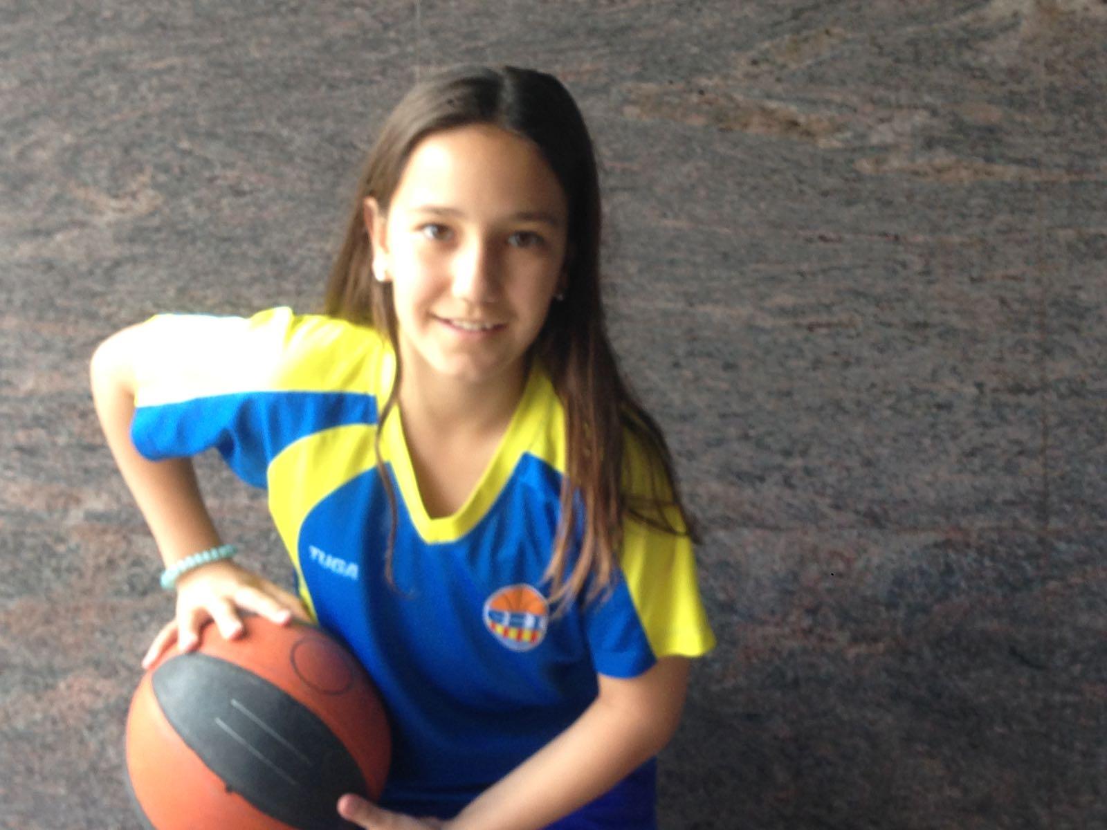 Jana Claramunt, del mini femení Blau, convocada per la FCBQ