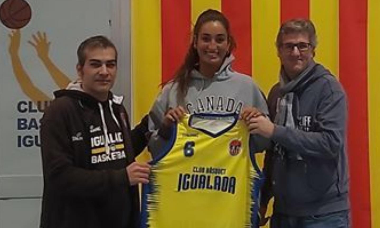 La pívot Carla Escuert fitxa pel primer equip femení del CBI