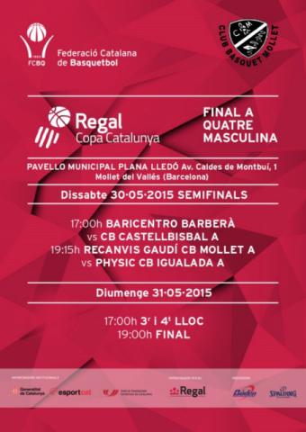 Final a quatre Regal Copa Catalunya Masculina