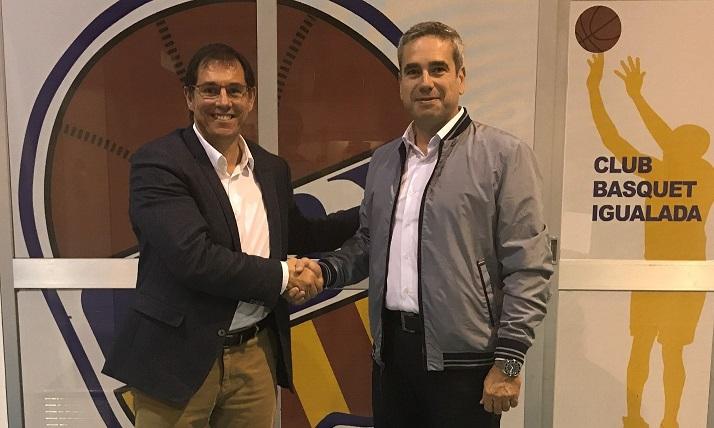 Comercial Godó amb el Club Bàsquet Igualada