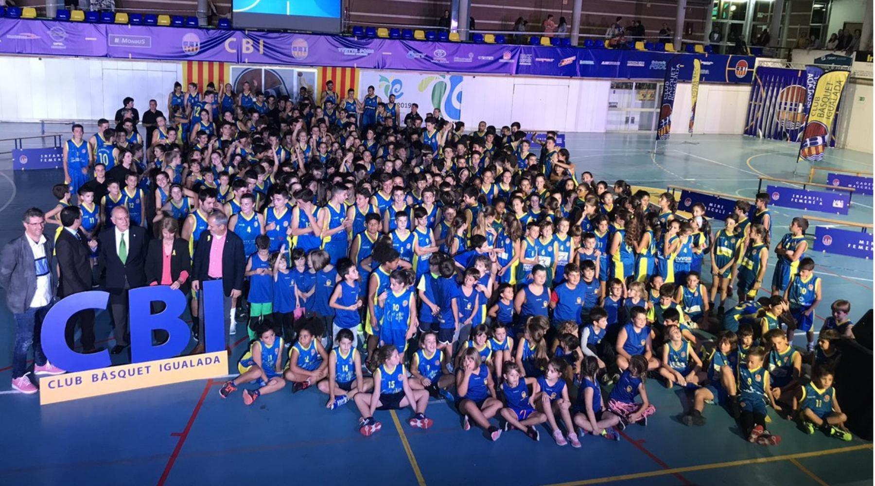 Presentació de la nova temporada del Club Bàsquet Igualada