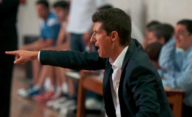 Jordi Martí, nou entrenador de l'EBA del Club Bàsquet Igualada.