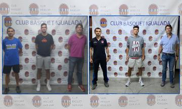 Robert Marsol i Nil Baqués, dues noves incorporacions per al primer equip masculí del Club Bàsquet Igualada