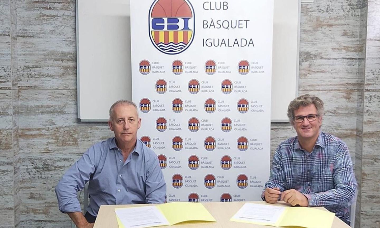 Monbus es compromet un any més amb el CBI i renova el patrocini al primer equip masculí