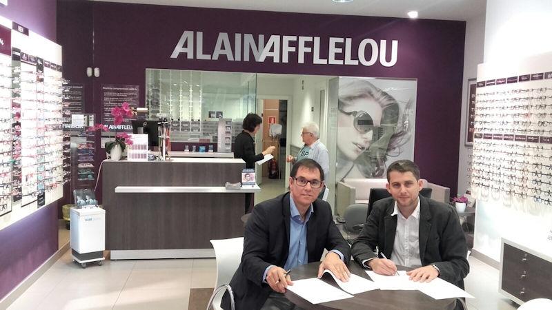 Alain Afflelou Igualada spònsor del sènior masculí B