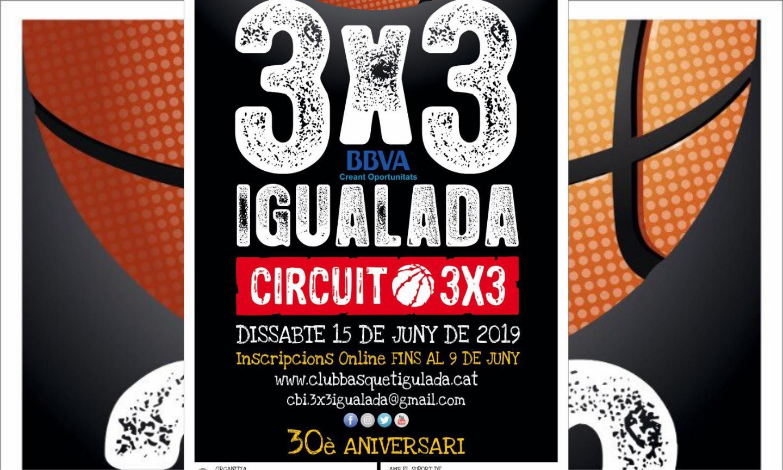 Presentada la 30ena edició del 3X3 d'Igualada