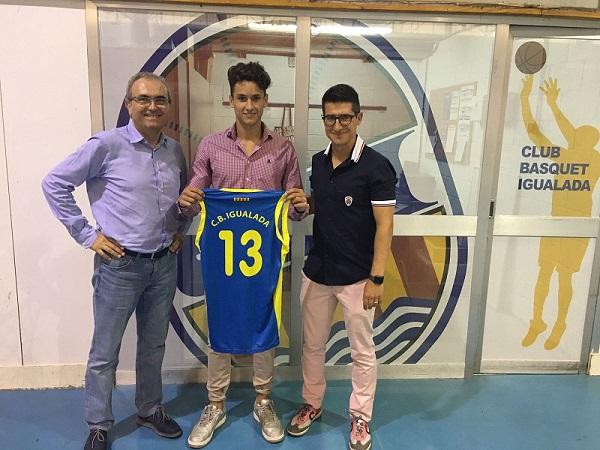 Sergi Carrión, nou reforç de l'equip d'EBA del Club Bàsquet Igualada
