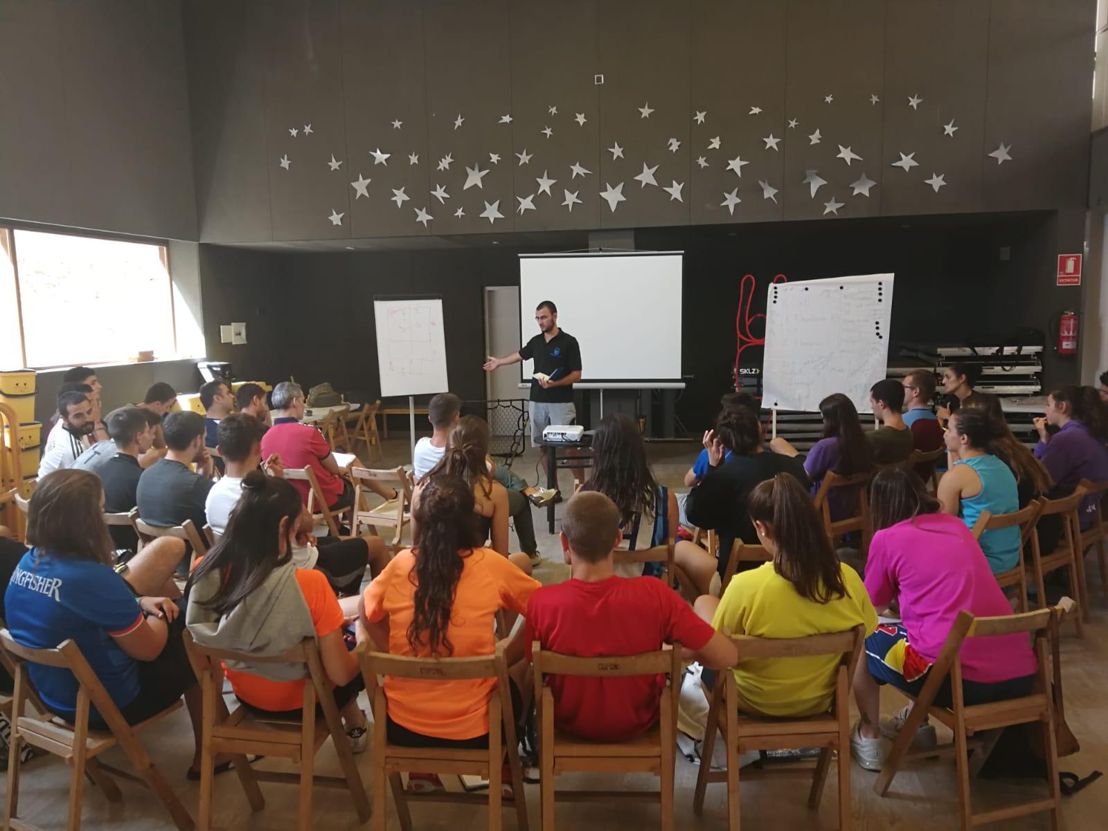 Jornada tècnica d'entrenadors del CBI a Copons