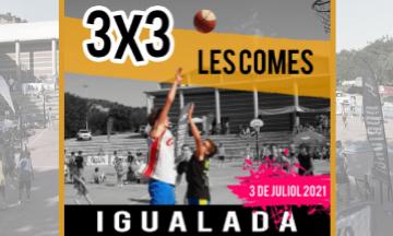 Igualada celebra la 31a edició del 3x3 de bàsquetel dissabte 3 de juliol
