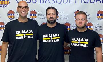 <p>EL CLUB BÀSQUET IGUALADA PRESENTA L'EQUIP TÈCNIC DEL PRIMER EQUIP MASCULÍ<br> També presenta l'estructura esportiva per aquesta temporada 2021-2022</p>